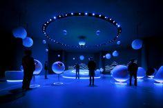 Universe of Particles Raumbild