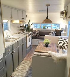 Modern Makeover Interior Motorhome To Copy Now 01 - Trailer - . - Modern Makeover Interior Motorhome To Copy Now 01 – Trailer – - Camper Life, Rv Campers, Camper Trailers, Travel Trailers, Small Rv Trailers, Travel Trailer Decor, Trailer Tent, Travel Camper, Trailer Diy