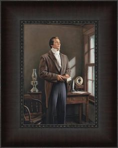 """Joseph Smith is the prophet of the Restoration. His spiritual work began with the appearance of the Father and the Son, followed by numerous heavenly visitations. He was the instrument in God's hands in bringing forth sacred scripture, lost doctrine, and the restoration of the priesthood. The importance of Joseph's work requires more than intellectual consideration; it requires that we, like Joseph, """"ask of God."""" –Elder Neil L. Andersen #LDS"""