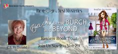 Literary Flits: Back to the Burgh and Beyond by C.S. McDonald + #G... Dance Careers, Book Review Blogs, Female Protagonist, Professional Dancers, Cold Case, Mystery Series, Cozy Mysteries, First Novel, Book Journal
