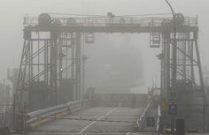 2012  fog at Saltry Bay  BC ferry