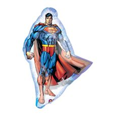 """Superman Stance Mylar (includes one 32"""" foil balloon in a pack)"""