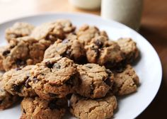 Peanut Butter Oatmeal Chocolate Chip Cookies Recipe   Savory Sweet Life - Easy Recipes from an Everyday Home Cook