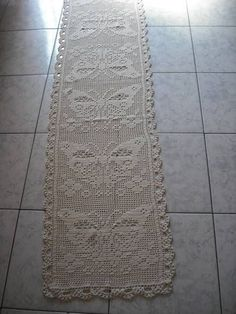 Only Crochet Patterns Archives - Beautiful Crochet Patterns and Knitting Patterns Crochet Table Runner, Crochet Tablecloth, Crochet Doilies, Crochet Home, Hand Crochet, Pinterest Crochet, Filet Crochet Charts, Crochet Butterfly, Lace Making