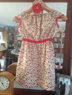 Dress and headband from a metre