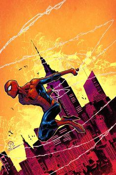 The amazing spider-man color by JoeyVazquez on deviantART