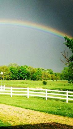Somewhere over the rainbow-St. Francois County, MO