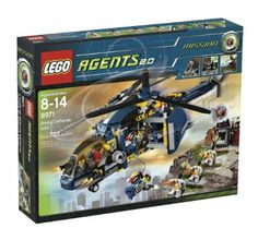 Amazon.com : LEGO Agents Aerial Defense (8971) : Toy Interlocking Building Sets : Toys & Games