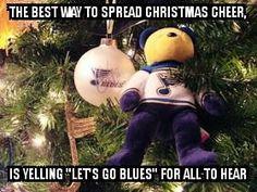 Let's Go Blues!