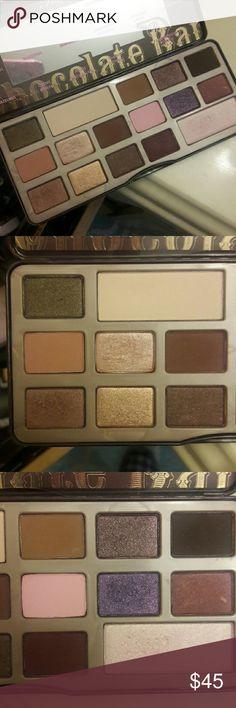 Eyeshadow Too Faced Chocolate Bar palette Gently used Too Faced Makeup Eyeshadow