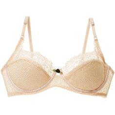Intimately Free People Intimately Free People Women's Tres Jolie... ($29) ❤ liked on Polyvore featuring intimates, bras, lace bra, bow bra, underwire bra, intimately free people and lacy bras