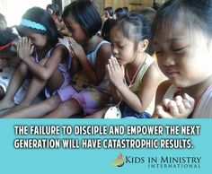 We need to take this seriously! Failure to be proactive in the spiritual lives of our children leaves them wide open to the deceptions of this world. We dare not be complacent. Like you daily teach your children to be polite, play nice, be respectful, you must daily teach them the Word of God with scriptures and doctrine that applies to their lives.