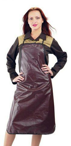 Plastic Aprons, Pvc Apron, Rubber Gloves, Hairdresser, Blouse, Cold Shoulder Dress, Play, Female, Dresses