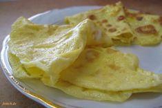 Eierpfannkuchen aus 2 Zutaten -paleo/lowcarb- Rezept  - Gesund Abnehmen! Low carb, wenig Kohlenhydrate und viel Fett! So einfach kann ein  gesunder Pfannkuchen sein: Alle Zutaten mit der Gabel verkläppern. Eine beschichtete oder die gute eingebrannte Eisenpfanne wählen. Etwas Weidebutter oder Schmalz in der Pfanne moderat erhitzen. Nur soviel von der Masse in die Pfanne schütten, bis der Boden gerade so bedeckt ist.  Den Pfannkuchen fast durchbraten, dann kurz wenden. Für jeden…