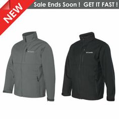Layer like a pro with this Columbia men's Ascender softshell jacket featuring wind-and-water-resistant softshell jacket that is versatile, all-weather piece made for windy days in fall or spring. Windy Day, New Year Gifts, Softshell, Columbia, Zip Ups, Rain Jacket, Windbreaker, Just For You, Happiness