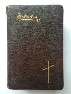 Antique Vintage Salmebog Hymn Hymnal Book Norwegian Lutheran Christian 1909