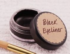 Homemade Eyeliner - Health Starts in the Kitchen