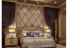 Like the Roman Mirrored Four Poster but all clean lines and bevel to bevel. Mirrored bed excellence! www.themirroredbedcompany.com