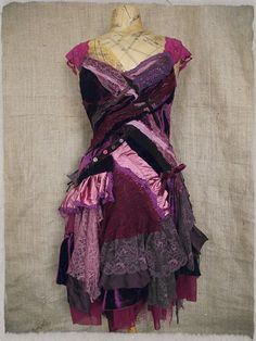 Victoria Plum dress by NaturallyBohemian on Etsy, £190.00