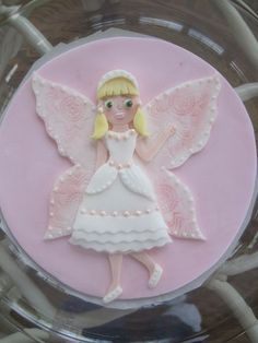 Fondant Fairy Tutorial - by MyCakeFairyDotCom @ CakesDecor.com - cake decorating website