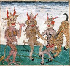 1480-1490. Devils