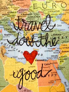 travel does the ❤ good