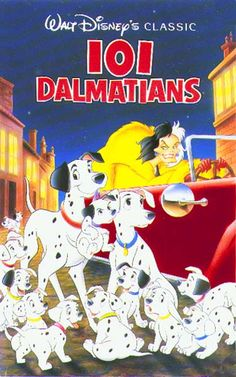 101 Dalmations 1961 Disney movie  - Greatest movie ever!