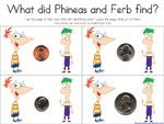 Phineas and Ferb printables from 1plus1plus1equals1! Yay, Carisa rocks!