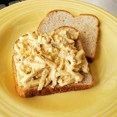 Ww Recipes, Salad Recipes, Cooking Recipes, Dinner Recipes, Egg Salad Sandwiches, Sandwich Recipes, Egg Salad Recipe Allrecipes, Pineapple Chicken Recipes, Classic Meatloaf Recipe
