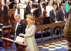 The romantic side of the day apart, their marriage heralded a complete change in Camilla's...