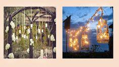 Questi bei vasetti dalle tantissime funzioni possono diventare se lo vuoi anche delle meravigliose lanterne che garantiscono un atmosfera incantevole e tanto romantica!