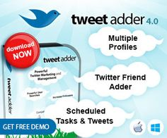 Twitter Marketing and Management Software - TweetAdder - Free Trial ..... http://www.discountforsure.in/2015/01/twitter-marketing-and-management.html