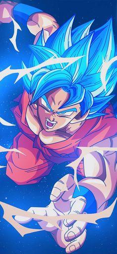 Dragon Ball Z Red Goku iPhone Wallpaper - iPhone Wallpapers Dragon Ball Gt, Blue Dragon, Art And Illustration, Wallpaper Do Goku, Dragonball Wallpaper, Dragonball Goku, Goku 2, Fan Art, Super Goku