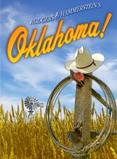 """Oklahoma!  Rodgers and Hammerstein musical from 1943, titled """"Away We Go"""" in tryouts.  For the CORRECT answer to the question """"What was the first musical in which Richard Rodgers collaborated with Oscar Hammerstein II?"""" see """"FLY WITH ME"""" elsewhere on this board."""