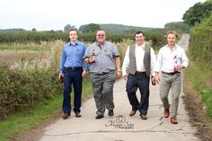 Before the bride turns up I have the pleasure of spending time with the groom and groomsmen to take their mind off their nerves with a little photo shoot