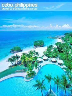 The most luxurious trip - Shangrila Hotel in Mactan, Cebu