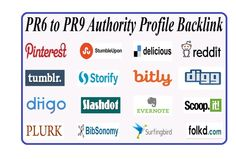 Authority profile backlinks