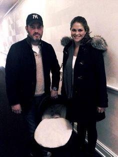 La princesa Magdalena y Chris O'Neill se llevan a casa a su hija recién nacida