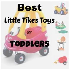 Little Tikes Toys for Toddlers #LittleTikesToys are sure to delight your toddlers this Christmas.