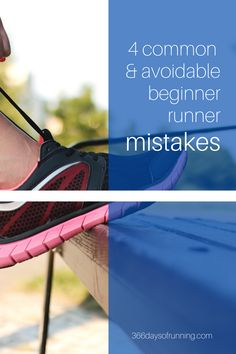 4 common and avoidable beginner runner mistakes - 366 Days of Running Running Challenge, Running Routine, Running Plan, Running Race, Marathon Running, How To Start Running, Running Tips, Running Training Programs, 5k Training Plan