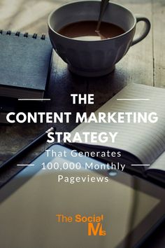 A case study on how to use a content marketing strategy to generate 100k monthly…