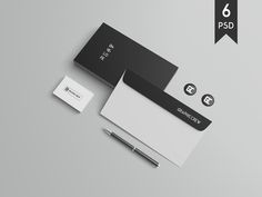 Stationery / Branding Mockups Vol. 2 by graphiccrew on @creativemarket