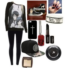 Black butler outfit