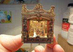 "The Weekend Pic - Vintage Theather - by Catherine / Agence Eureka    This little Vintage French Theater was assembled by artisan Catherine from Le Monde Cratif De Catherine. You can download this model at Agence Eureka Website (link at the end of this post). To find this model at Agence Eureka, look for the tag ""Epinal"". Half the fun is in searching among hundreds of rare models preserved and kindly shared by this nice French website."