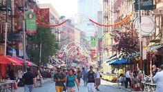 Cartes postales de Little Italy et ChinaTown #Manhattan