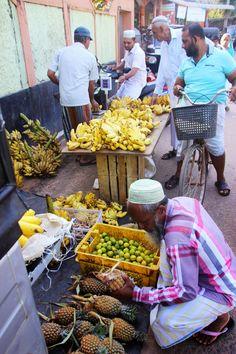 Sri Lanka. Market