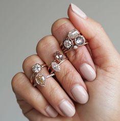 A diamond ring for e