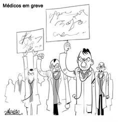 Protesto dos médicos pelo Brasil