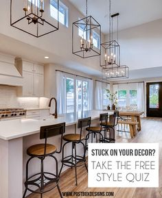 Introducing the BRAND NEW and FREE Design Style Quiz! Find out your Design Style in 60 seconds, plus stores to shop, items to include, and more! Kids Bedroom Designs, Hallway Designs, Foyer Design, Dining Room Design, Kitchen Design, Bedroom Ideas, Bonus Room Design, Media Room Design, Family Room Design