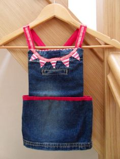 Homemade jeans recycling